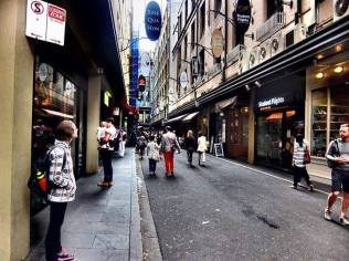 Degraves Street in Melbourne